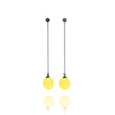 Yellow Long Chain Drops