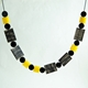 Yellow Metro Necklace