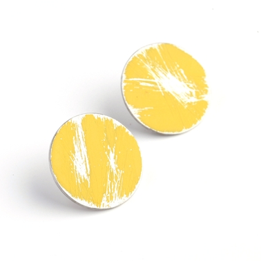Small Yellow Buoy Studs