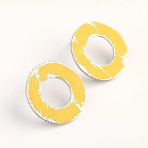 Small Yellow Washer studs 2