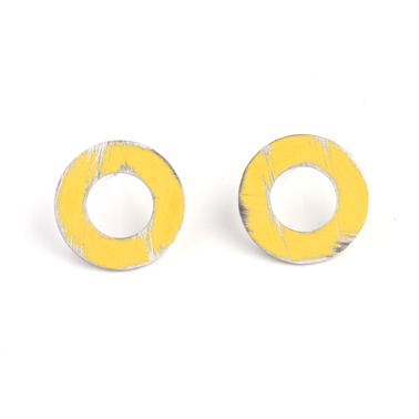 Small Yellow Washer studs